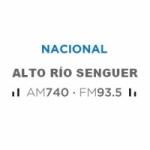 Logo da emissora Radio Nacional 740 AM 93.5 FM