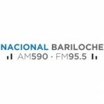 Logo da emissora Radio Nacional 590 AM 95.5 FM