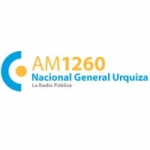 Logo da emissora Radio Nacional General Urquiza 1260 AM