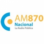 Logo da emissora Radio Nacional Fútbol