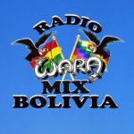 Logo da emissora Radio Wara Mix Bolivia