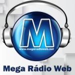 Logo da emissora Mega Rádio Web