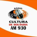 Logo da emissora Rádio Cultura de Rolândia 930 AM