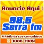 Logo da emissora R�dio Serra 98.5 FM