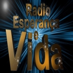 Logo da emissora Rádio Esperança e Vida