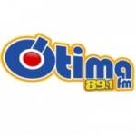 Logo da emissora Rádio Ótima 89.1 FM