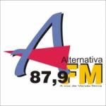 Logo da emissora R�dio Alternativa 87.9 FM Venda Nova