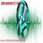 Logo da emissora Rádio Momento