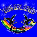 Logo da emissora Radio Maya Andino