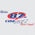 Logo da emissora R�dio Compaz 87.7 FM