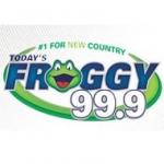 Logo da emissora KVOX 99.9 FM