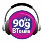 Logo da emissora Radio BT 90.9 FM