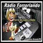 Logo da emissora Rádio Forroriando