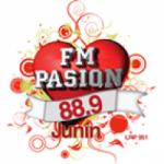 Logo da emissora Radio Pasion 88.9 FM