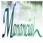 Logo da emissora Manancial FM