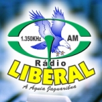 Logo da emissora Rádio Liberal 1350 AM