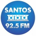 Logo da emissora Rádio Santos 92.5 FM