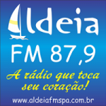 Logo da emissora R�dio Aldeia 87.9 FM