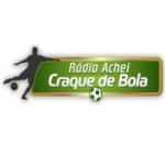 Logo da emissora Rádio Achei Craque de Bola