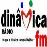 Logo da emissora Din�mica FM