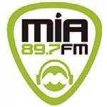 Logo da emissora Radio Mia 89.7 FM