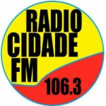 Logo da emissora R�dio Cidade  FM