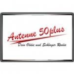 Logo da emissora Antenne 50 Plus