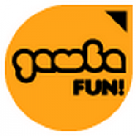 Logo da emissora Radio Gamba Fun