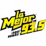 Logo da emissora Radio La Mejor 93.5 FM