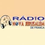 Logo da emissora Rádio Nova Jerusalém de Franca