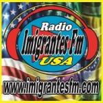 Logo da emissora R�dio imigrantes FM USA