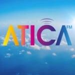 Logo da emissora Radio Atica 106.4 FM