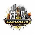Logo da emissora Radio La Explosiva 107.5 FM