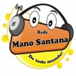 Logo da emissora Rede Mano Santana