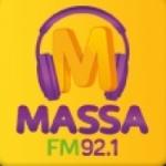 Logo da emissora Rádio Massa 92.1 FM