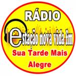 Logo da emissora Rádio Estação Nova Vida FM