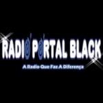 Logo da emissora Rádio Portal Black