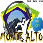 Logo da emissora Rádio Ipirá Monte Alto