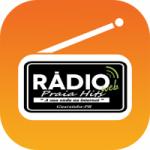 Logo da emissora Rádio Praia Hits