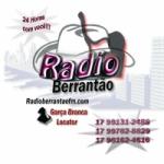 Logo da emissora Berrant�o FM