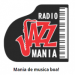 Logo da emissora Rádio Jazz Mania