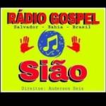 Logo da emissora Rádio Gospel Sião