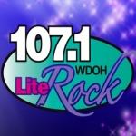 Logo da emissora WDOH 107.1 FM