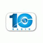 Logo da emissora Radio 10 92.3 FM
