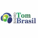 Logo da emissora Rádio Tom Brasil