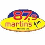 Logo da emissora Radio Martins 87.9 FM