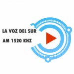 Logo da emissora Radio La Voz del Sur 1520 AM