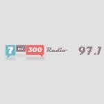 Logo da emissora Radio 7mil300 97.1 FM
