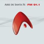 Logo da emissora Radio Aire de Santa Fe 91.1 FM