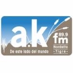 Logo da emissora Ak Radio 89.9 FM